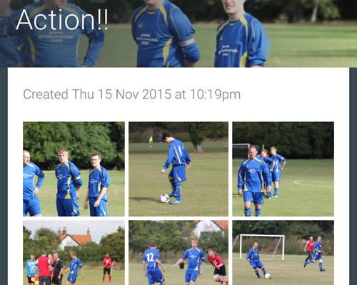 football photos video